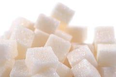 Tas de sucre raffiné photo libre de droits