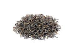 Tas de thé noir lâche Assam photo libre de droits