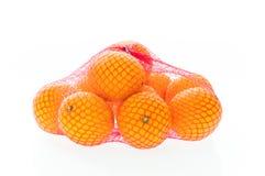 Tas des oranges Images stock