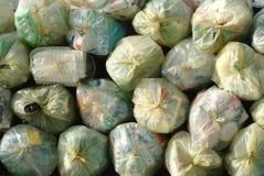 Tas des sacs d'ordure Image libre de droits