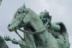 Tas the Horseman - Budapest Stock Photography