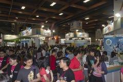 14tas multimedias de Taipei, industrias de la nube y expo del márketing Imagen de archivo libre de regalías