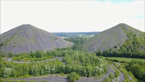 Tas reclassifiés comme parc naturel banque de vidéos