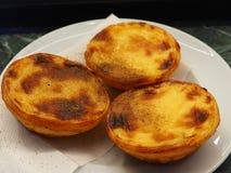A tasteful sweet portuguese dessert. Tas tasteful portuguesa portuguese sweet dessert stock photography