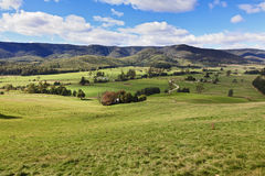 Tas Valley Pasture Royalty Free Stock Photos