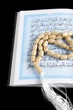 Tasbih - gotas de rezo musulmanes fotografía de archivo libre de regalías