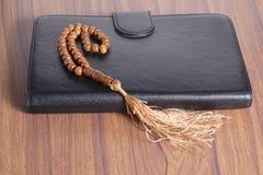 Tasbih - moslem prayer beads stock photo