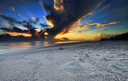 Tasbih-Sonnenaufgang Stockfotografie