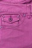 Tasca dei jeans Fotografia Stock Libera da Diritti