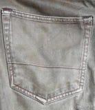 Tasche auf den Jeans lizenzfreies stockfoto