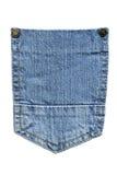 Tasche Blue Jeans Lizenzfreie Stockbilder