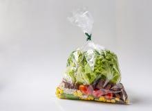 Tasche des Salats Lizenzfreie Stockbilder