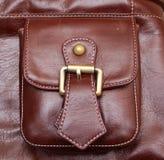 Tasche Leder Stockfotos