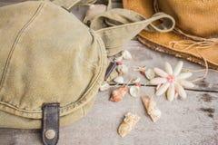 Tasche und Oberteile Stockbild