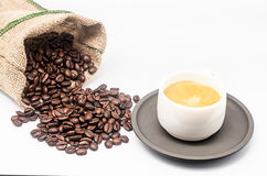 Tasche von Kaffee 2 Lizenzfreie Stockfotografie