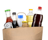 Tasche von Lebensmittelgeschäften Lizenzfreies Stockbild