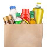 Tasche von Lebensmittelgeschäften Lizenzfreie Stockfotografie