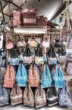 Taschen für Verkauf Stockfoto