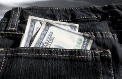 Taschen-Geld Lizenzfreie Stockfotografie
