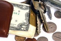 Taschen-Material stockfoto