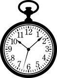 Taschen-Uhr lizenzfreie abbildung