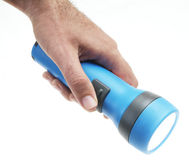 Taschenlampe lizenzfreies stockbild