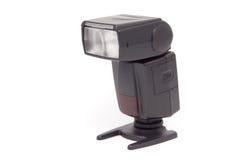 Taschenlampe getrennt auf einem weißen Hintergrund. Stockbild