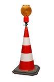 Taschenlampe-ISO des Traf Kegels W. Lizenzfreies Stockbild