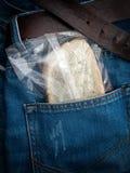 Taschenmittagessen lizenzfreie stockfotos