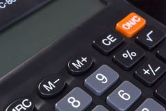 Taschenrechner Lizenzfreie Stockfotos