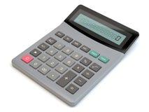 Taschenrechner, weißer Hintergrund, Illustration 3D vektor abbildung