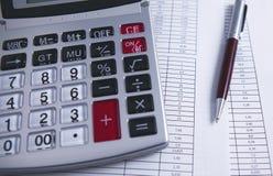 Taschenrechnergraphikstift lizenzfreie stockfotografie