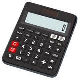 Taschenrechnerikone grundlegend und einfach für Büronutzung Lizenzfreie Stockfotos
