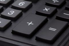 Taschenrechnertastatur-Grauknöpfe Stockfotos