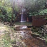 Tasek lamavattenfall Fotografering för Bildbyråer