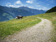 Taser Alm in South Tyrol Stock Photo