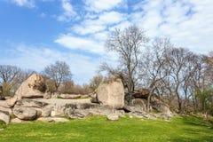 Tash di Beglik - santuario megalitico antico di Thracian fotografie stock