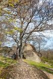 Tash di Beglik - santuario megalitico antico di Thracian immagine stock libera da diritti