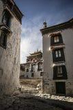 Tashi Lhunpo kloster, Tibet royaltyfri bild