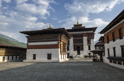 Tashichho Dzong, Thimphu, Bhutan Fotografia Stock Libera da Diritti