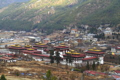 Tashichho Dzong in Thimphu Royalty Free Stock Photos