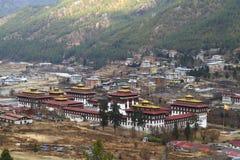 Tashichho Dzong in Thimphu Royalty Free Stock Photos