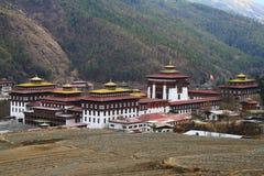 Tashichho Dzong in Thimphu Royalty Free Stock Photo