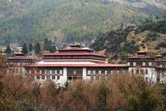 Tashichho Dzong in Thimphu Stock Photography