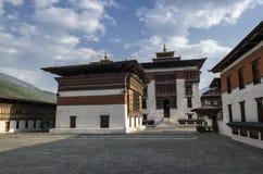 Tashichho Dzong, Timbu, Bhután Fotografía de archivo libre de regalías