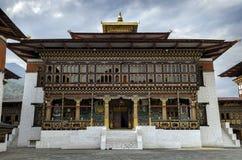 Tashichho Dzong, Timbu, Bhután Fotos de archivo