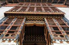 Tashichho Dzong, Timbu, Bhután Fotos de archivo libres de regalías