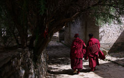 Tashilhunpo Kloster Stockfotos