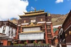 Tashilhunpo-Kloster in Xigazê Stockbild