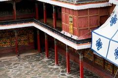 Tashilhunpo monaster Shigatse Tybet Obraz Royalty Free